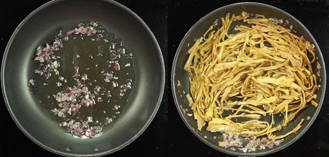Để cân nặng không tăng vùn vụt sau Tết, ăn miến là lựa chọn hoàn hảo: Nấu nhanh, tận dụng được cả thịt gà và canh măng có sẵn!-3