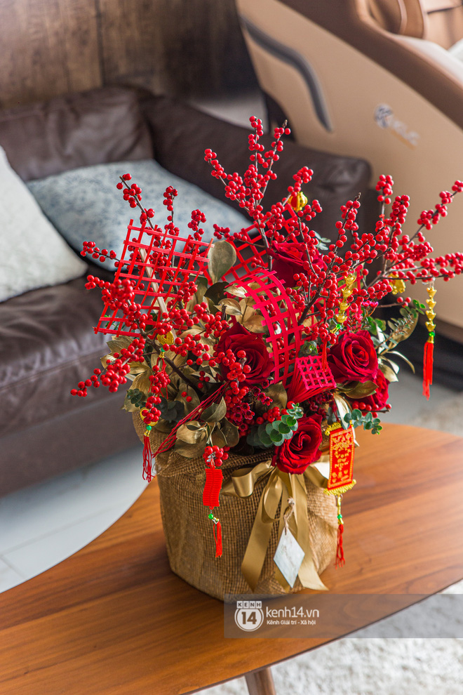 Nhà của Dương Khắc Linh - Sara Lưu: Phòng khách trưng hoa bắt mắt, gian bếp đắt đỏ chiếm gần một nửa giá mua nhà-6