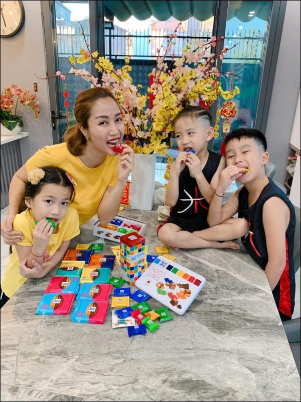 Bà mẹ 3 con Ốc Thanh Vân quả là siêu nhân, bí quyết chăm con này các mẹ bận mấy cũng nên học hỏi-5