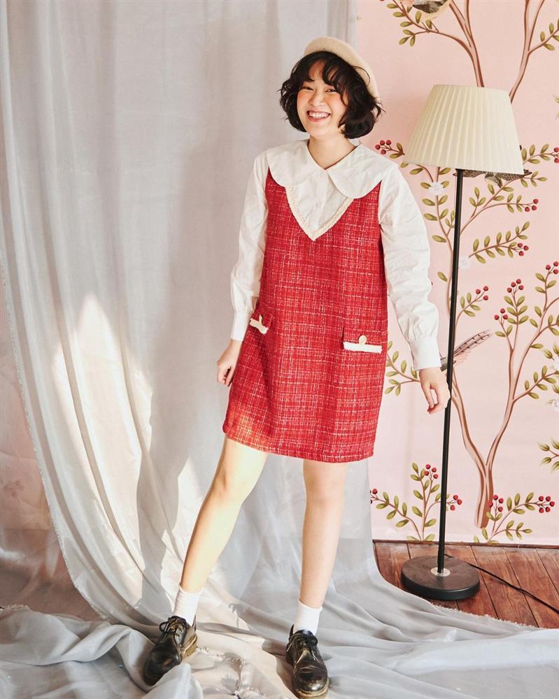9 mẫu váy đỏ xinh ngất lại chẳng kén dáng, chị em tia gấp để Tết này diện lên ai cũng khen xinh-6