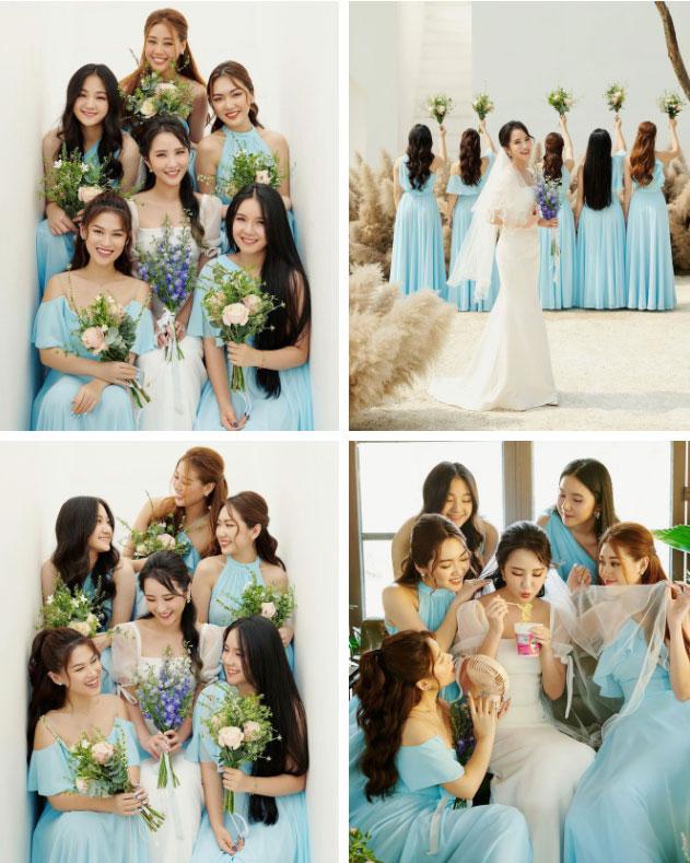 Đám cưới Phan Thành - Primmy Trương: Nhà gái dựng cổng hoa tươi hoành tráng trước biệt thự to đùng vật vã-7