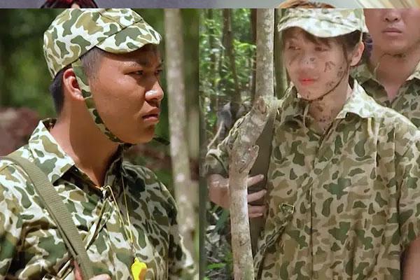 Sao nhập ngũ: Mũi trưởng Long 'ghen tuông' khi Hậu Hoàng bất ngờ 'lấy chồng'