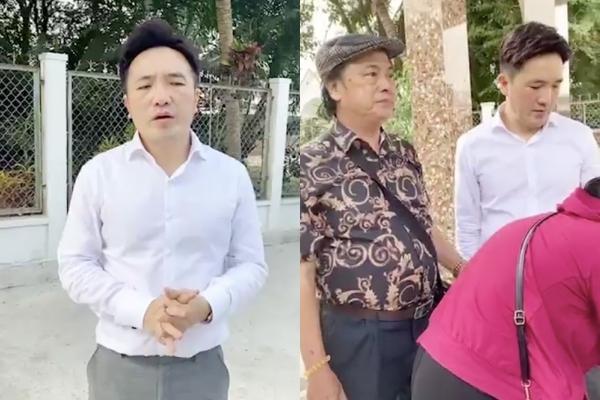 Dương Ngọc Thái về thăm mộ, nhận bé út nhà Vân Quang Long làm con nuôi-3