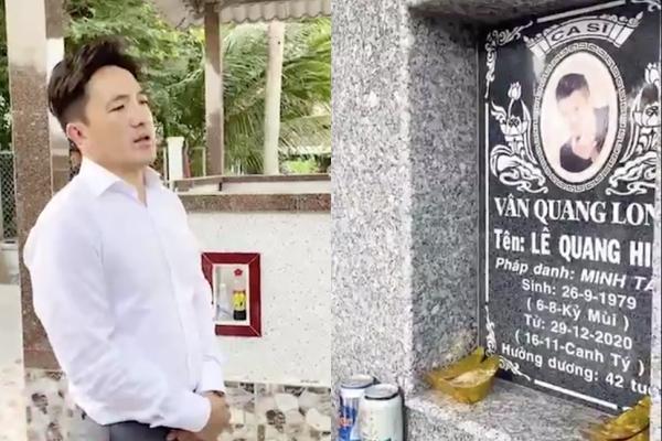 Dương Ngọc Thái về thăm mộ, nhận bé út nhà Vân Quang Long làm con nuôi-2