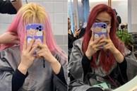 Đi nhuộm tóc giá 3,5 triệu tại một Salon có tiếng, cô nàng này nhận lại được mái tóc xơ nhũn và sự ức chế vô cùng