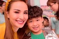 Diễm Hương làm bạn cùng con từ điều đơn giản nhất, thêm hành động nhân văn này khiến hoa hậu được khenkhéo dạy con