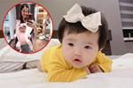 Con gái Đông Nhi gây thích thú với gương mặt không cảm xúc khi mẹ chúc mừng sinh nhật bố Ông Cao Thắng-4
