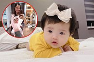 Đông Nhi địu con trong chiếc địu vải trông cưng hết sảy, nhưng hội bỉm sữa phải nhắc cô ngay 1 điều vì gây nguy hiểm cho bé