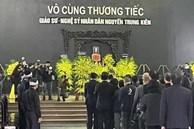 Đám tang NSND Trung Kiên: Diva Thanh Lam cùng bạn trai, Tùng Dương và các nghệ sĩ đến viếng