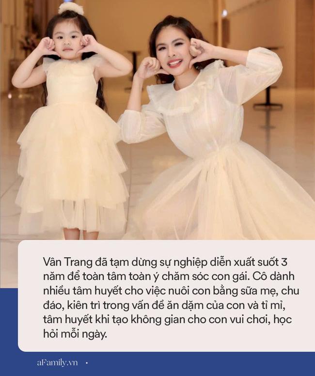 Con gái Vân Trang mới 5 tuổi đã được khen cao ráo, ra dáng mỹ nhân tương lai, ít người biết cô đã hy sinh điều to lớn này cho bé-8