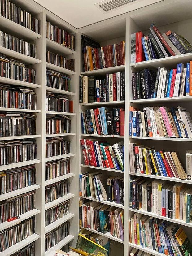 Căn hộ của Tùng Dương: Không quái như nhiều người vẫn tưởng, đáng giá nhất là bộ sưu tập sách và CD đồ sộ-14