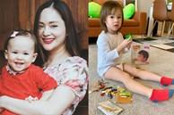 Con gái lai Tây của Lan Phương khôngchỉ sớm chững chạc mà còn thừa hưởng năng khiếu từ người mẹ diễn viên