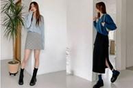 5 kiểu chân váy gái Hàn thường diện với áo len, nàng công sở nên hóng ngay để không bao giờ lo mặc xấu