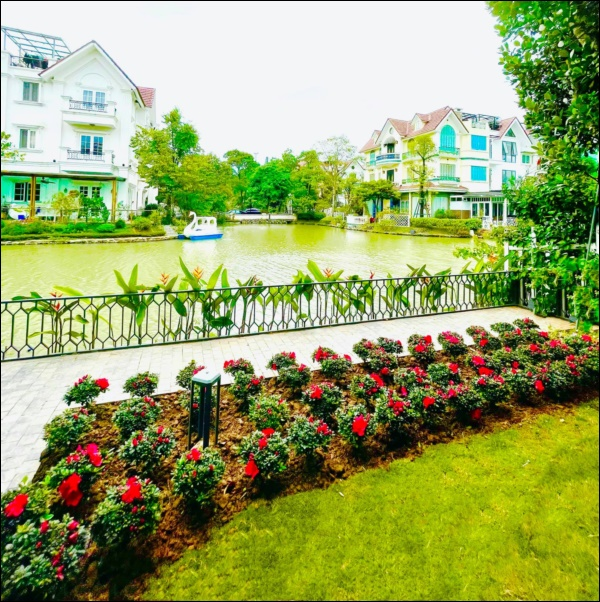 Cận cảnh khu vườn đẹp như mơ trong biệt thự ven sông của Lã Thanh Huyền, Tết dịch ngồi ở nhà ngắm hoa lá cũng vui-7