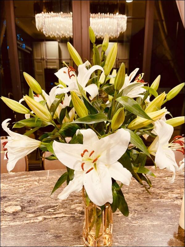 Cận cảnh khu vườn đẹp như mơ trong biệt thự ven sông của Lã Thanh Huyền, Tết dịch ngồi ở nhà ngắm hoa lá cũng vui-11