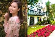 Cận cảnh khu vườn đẹp như mơ trong biệt thự ven sông của Lã Thanh Huyền, Tết dịch ngồi ở nhà ngắm hoa lá cũng vui