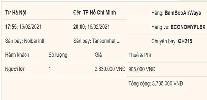 Giá vé máy bay Tết rẻ kỷ lục, đường bay TP.HCM – Hà Nội giảm giá bất ngờ-1