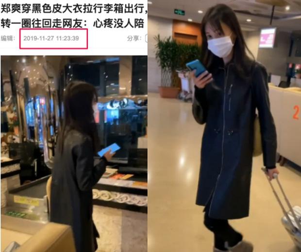 Xôn xao hình ảnh Trịnh Sảng lộ diện sau scandal: Cúi gằm mặt, mệt mỏi kéo vali một mình về quê ăn Tết?-5