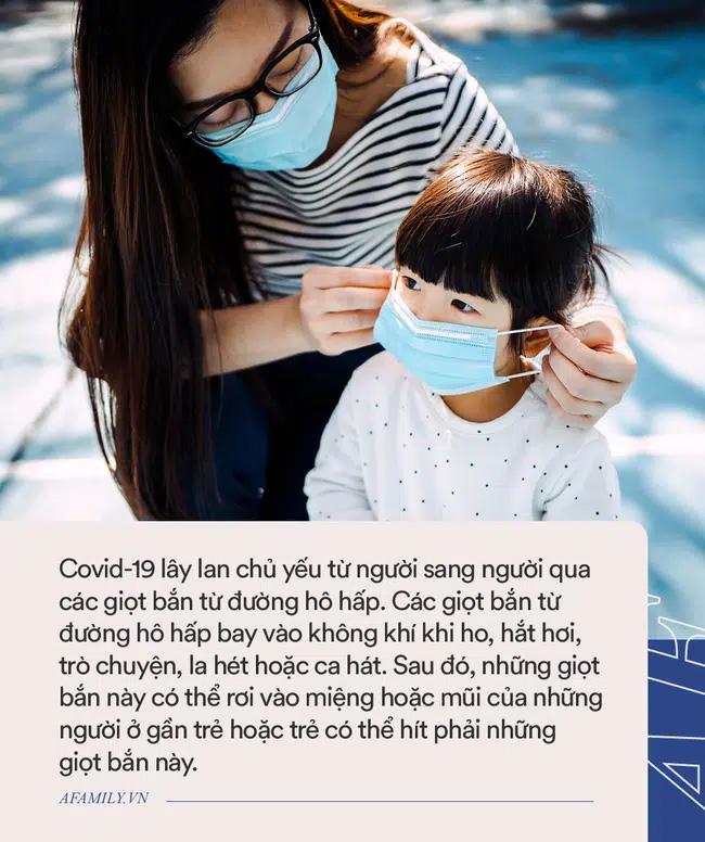 Loạt hành động vô tư của bố mẹ khiến trẻ có nguy cơ lây nhiễm Covid-19 cao, tuân thủ ngay 4 KHÔNG để con an toàn trong mùa dịch-3