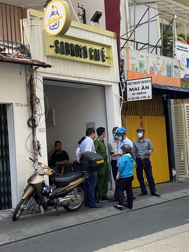 TP.HCM: Phong tỏa quán cafe trên phố đi bộ Bùi Viện vì BN1883 ở Hà Nội từng ghé-3