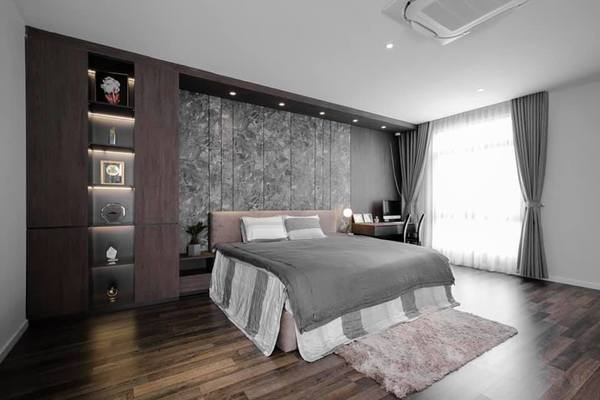 Lê Hoàng (The Men) khoe cận biệt thự 40 tỷ, choáng khi thấy phòng ngủ-8