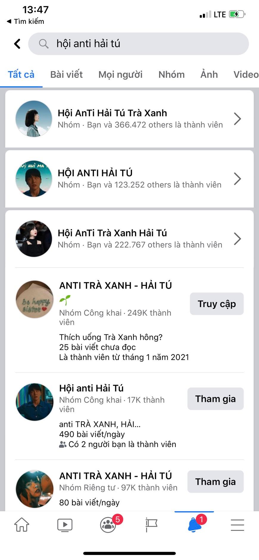 Group anti-fan Hải Tú 400K thành viên bay màu, loạt nhóm phụ mọc lên như nấm sau mưa-4