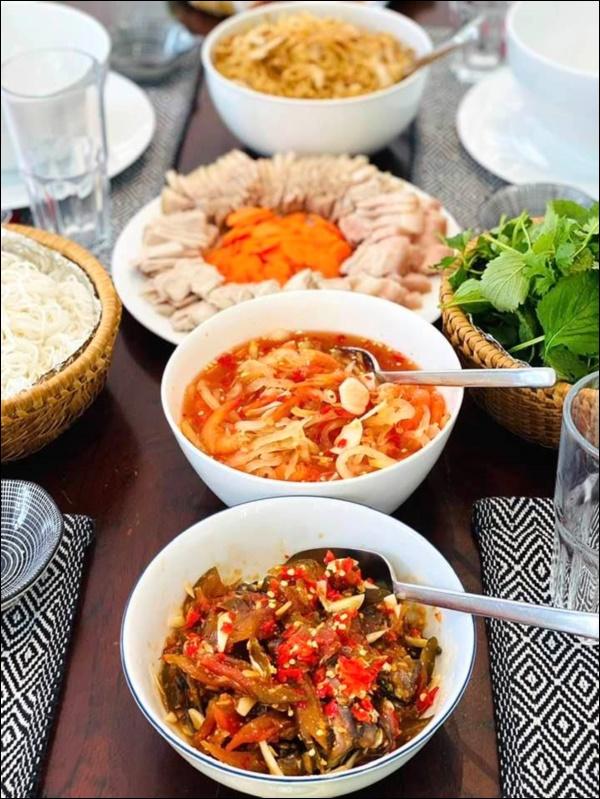 Mỹ nhân Gái nhảy nấu ăn siêu ngon không thua gì đầu bếp nhà hàng khiến Thu Minh than trời vì không thể giảm cân-5