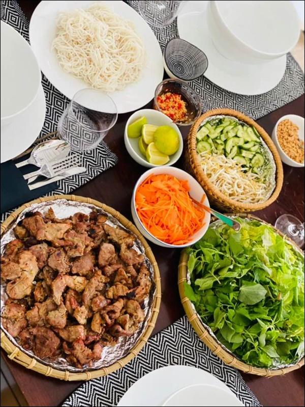 Mỹ nhân Gái nhảy nấu ăn siêu ngon không thua gì đầu bếp nhà hàng khiến Thu Minh than trời vì không thể giảm cân-7