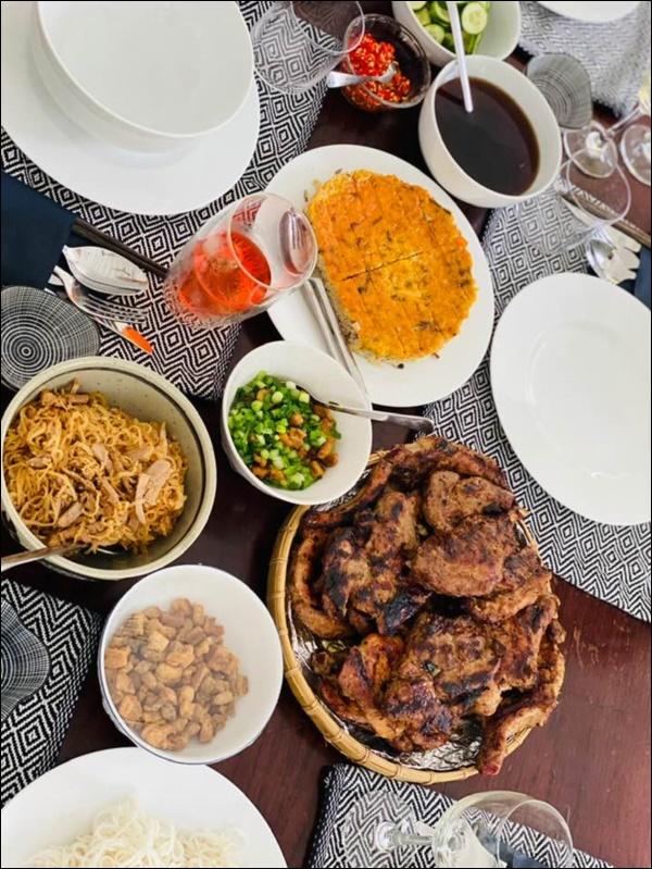 Mỹ nhân Gái nhảy nấu ăn siêu ngon không thua gì đầu bếp nhà hàng khiến Thu Minh than trời vì không thể giảm cân-8