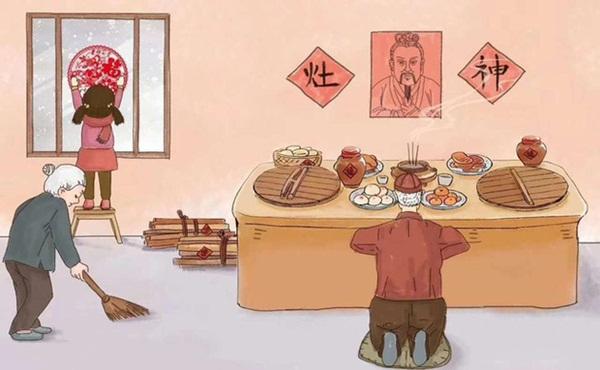 Chuyện người Trung Hoa đưa ông Táo về trời: Cá chép không phải là phương tiện chính, dùng rượu ngon món ngọt để khóa miệng Táo Quân không bẩm chuyện xấu trần gian-1