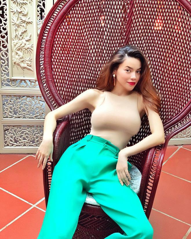 Hà Hồ thường xuyên diện áo mặc như không, dân tình nức nở với body cực phẩm-8