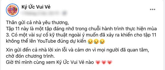 Ký ức vui vẻ: Khiến fan vỡ oà với cảnh MC Lại Văn Sâm gặp bé Đậu Đũa, ekip sản xuất vẫn xin lỗi vì có sự cố-1