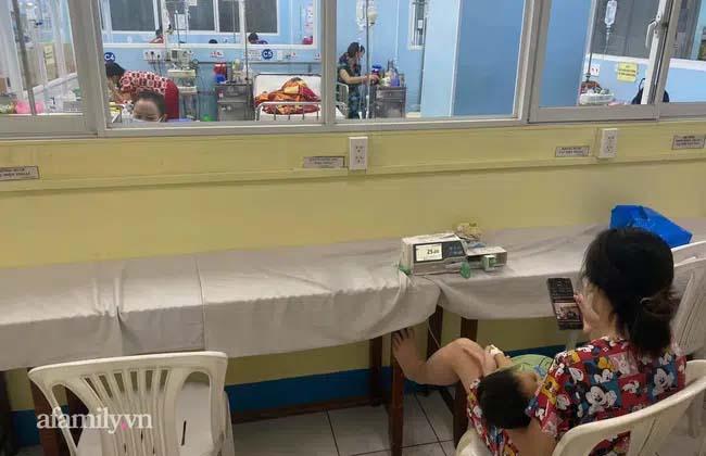 Bệnh viện Nhi Đồng 1 trắng đêm hồi hộp đợi kết quả xét nghiệm ca F1 khai gian khi đưa con đi khám bệnh-2