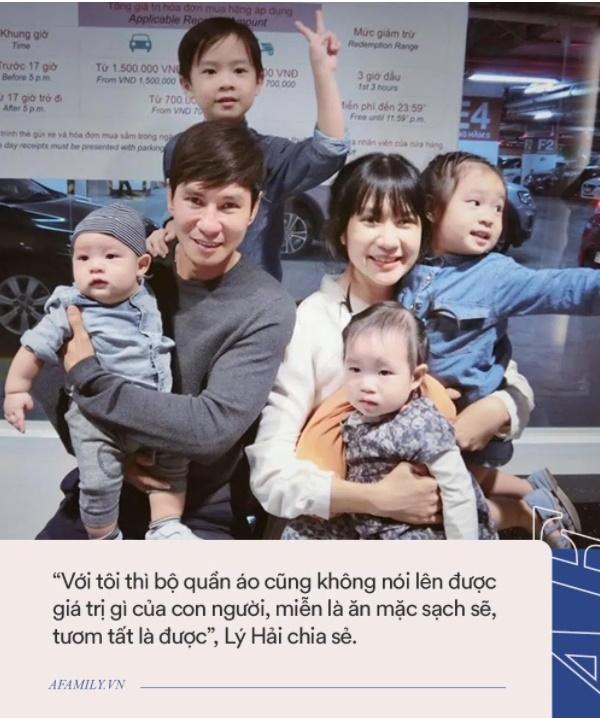 Gia đình siêu giàu nhưng vợ chồng Lý Hải - Minh Hải lại áp dụng cách không ngờ để con có quần áo mới, ai nghe cũng phải gật gù khen-2