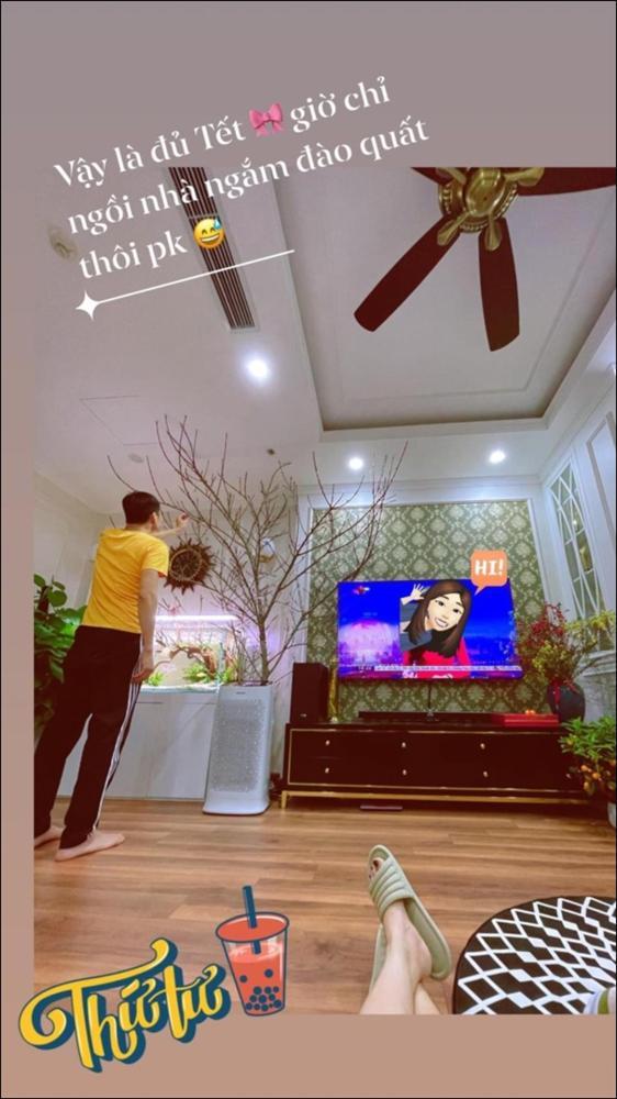 Sao Việt trang trí nhà cửa đón Tết: Lã Thanh Huyền 3 đời chơi lan Hồ Điệp, Thúy Hạnh thiết kế sânvườn đèn hoa lộng lẫy như nhà hàng Nhật-11