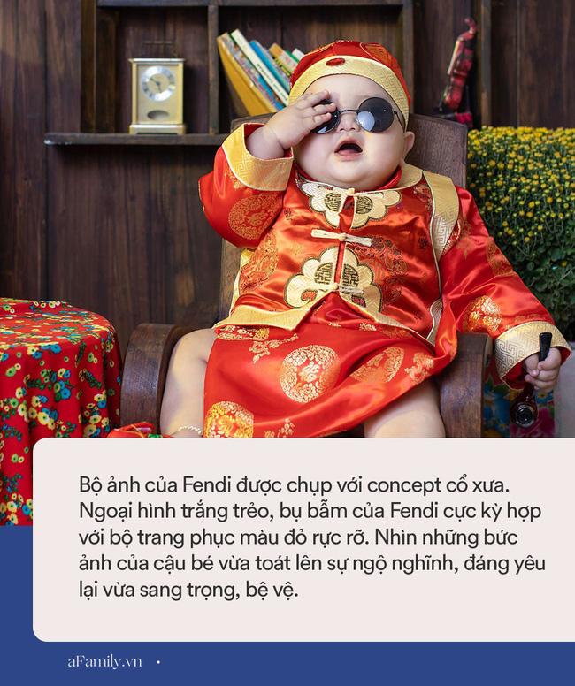 Bộ ảnh Tết của bé trai 1 tuổi gây sốt MXH vì đáng yêu phát hờn: Nhìn thôi đã thấy năm mới vui vẻ, khỏe mạnh, sung túc đủ đầy rồi!-5