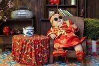 Bộ ảnh Tết của bé trai 1 tuổi gây sốt MXH vì đáng yêu 'phát hờn': Nhìn thôi đã thấy năm mới vui vẻ, khỏe mạnh, sung túc đủ đầy rồi!
