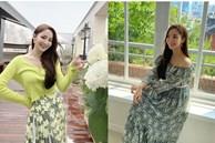 7 món đồ đắt nhất trên Instagram của Park Min Young: Choáng với bộ váy hoa trễ vai nhìn đơn giản mà gần 100 triệu
