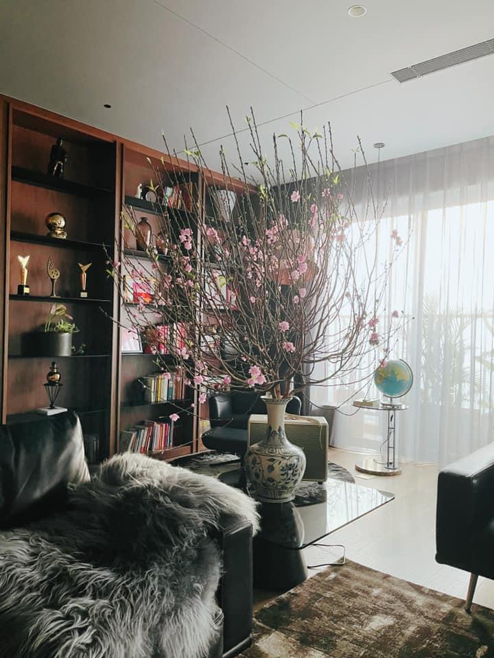 Sao Việt trang trí nhà cửa đón Tết: Lã Thanh Huyền 3 đời chơi lan Hồ Điệp, Thúy Hạnh thiết kế sânvườn đèn hoa lộng lẫy như nhà hàng Nhật-6