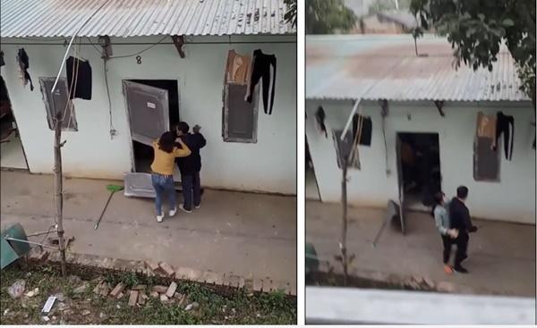 Đánh ghen cuối năm đầy kịch tính của hai mẹ con, tiểu tam cố thủ trong nhà và pha xử lý mạnh bạo của cô con gái-1