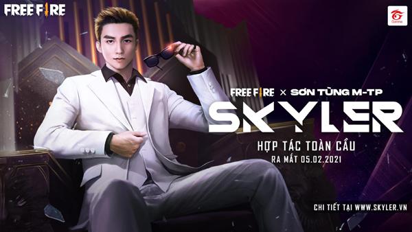 'Trình làng' Skyler - Sơn Tùng M-TP phiên bản game-2