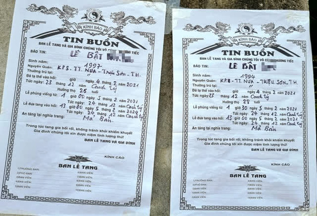 4 thanh niên tử vong trong vụ cháy do đốt vàng mã ở Hà Nội: Người vợ mang thai 8 tháng ôm linh cữu chồng khóc nghẹn-1