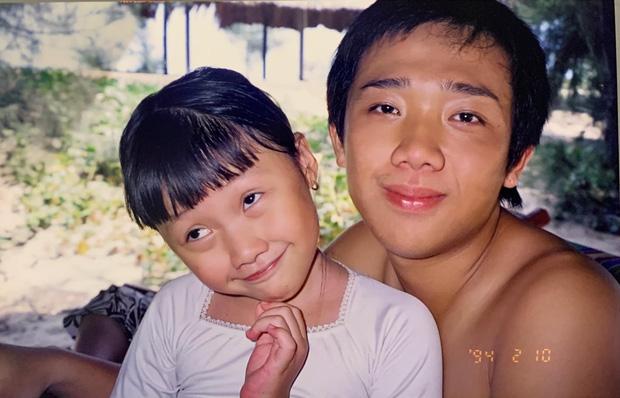 Em gái Trấn Thành tung ảnh hiếm chúc mừng sinh nhật anh trai, ai ngờ chiếm luôn spotlight của nhân vật chính-1