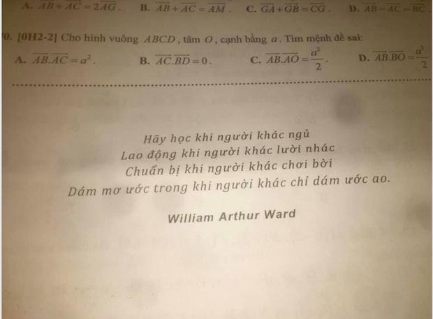 Thầy giáo giao bài tập Tết sớm, học sinh chưa kịp đọc đến trang cuối đã thấy dòng chữ vô cùng bá đạo-2