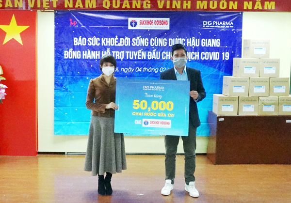 50.000 chai gel rửa tay khô Bioskin hỗ trợ 3 tỉnh chống dịch-1