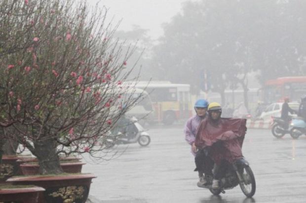 Gió mùa Đông Bắc tràn về từ 27 Tết trời chuyển mưa rét, Hà Nội thấp nhất 13 độ C-1