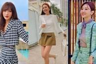 Học 11 cách diện chân váy ngắn của mỹ nhân Việt để Tết này thật trẻ xinh, vóc dáng luôn được hack cao hơn cả chục phân
