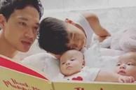 Giây phút Kim Lý chăm sóc các con thay Hà Hồ, nhìn vô cùng ngọt ngào