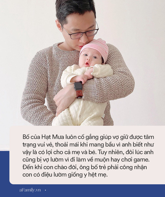 """Chồng suốt ngày khiến vợ ngứa mắt"""" khi mang bầu, con vừa ra đời đã có điệu lườm nguýt y chang mẹ, các bố xem mà rút kinh nghiệm-12"""