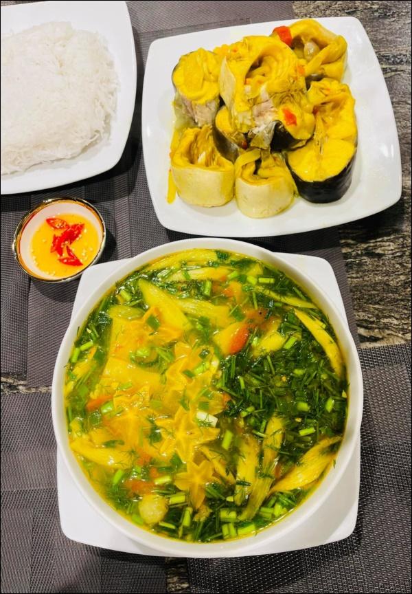 Lã Thanh Huyền hái khế vườn nhà nấu canh cá chua ngon xuất sắc, trước khi bắt đầu chuỗi ngày ăn ngập thịt hãy chiêu đãi gia đình món ăn này-5